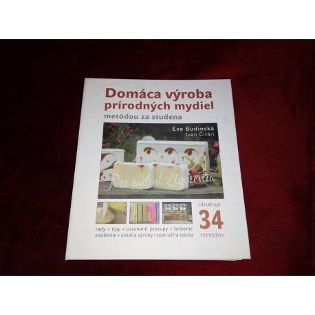 Kniha Domáca výroba prírodných mydiel metódou za studena